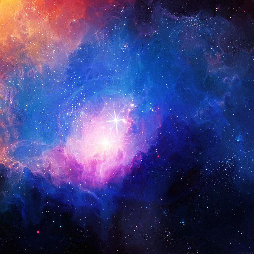 Awesome Cool Car Wallpapers Mn48 Space Aurora Art Star Illust Blue Rainbow Papers Co