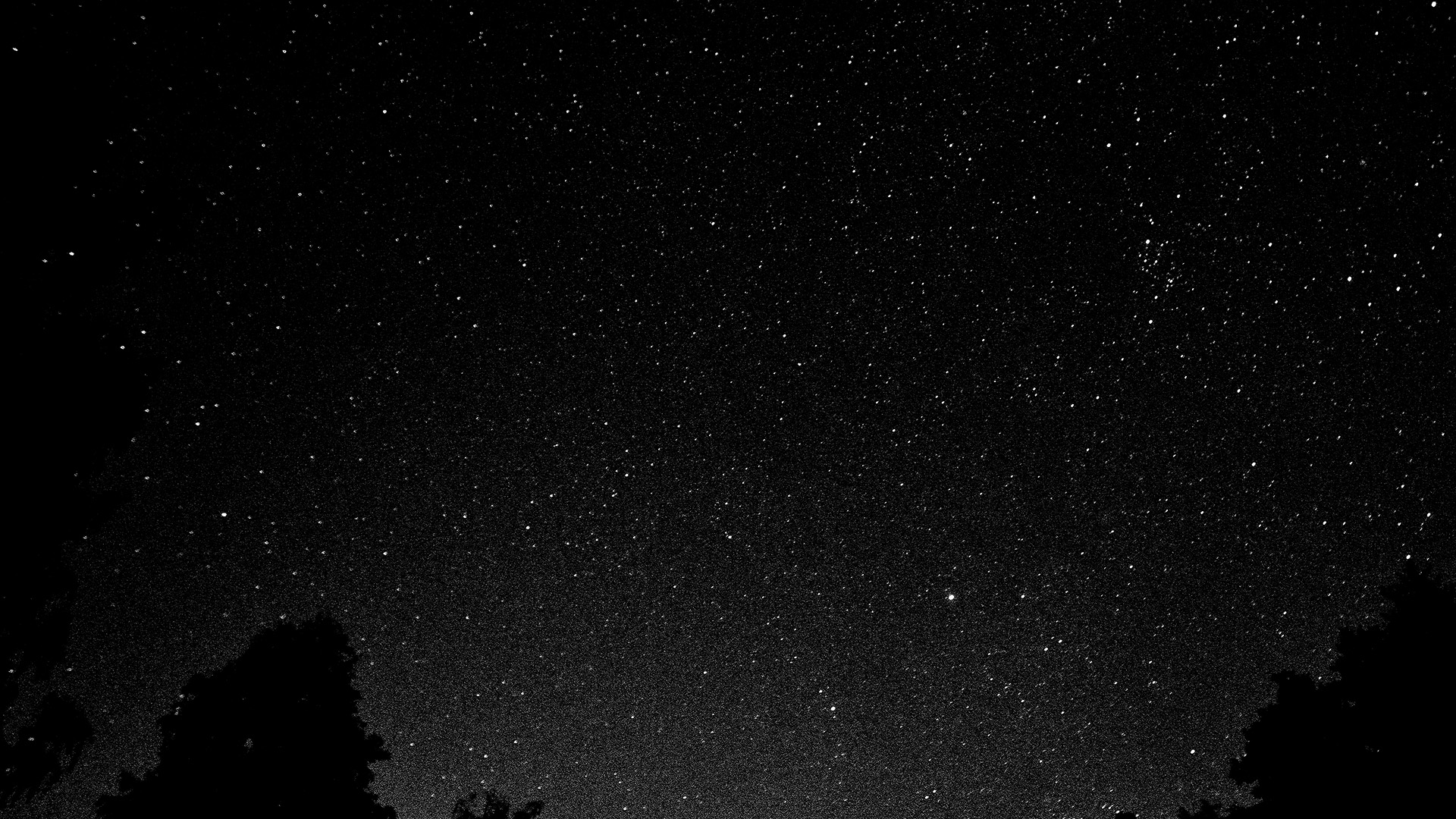 Fall Mountain Desktop Wallpaper Mt43 Starry Night Sky Star Galaxy Space White Black