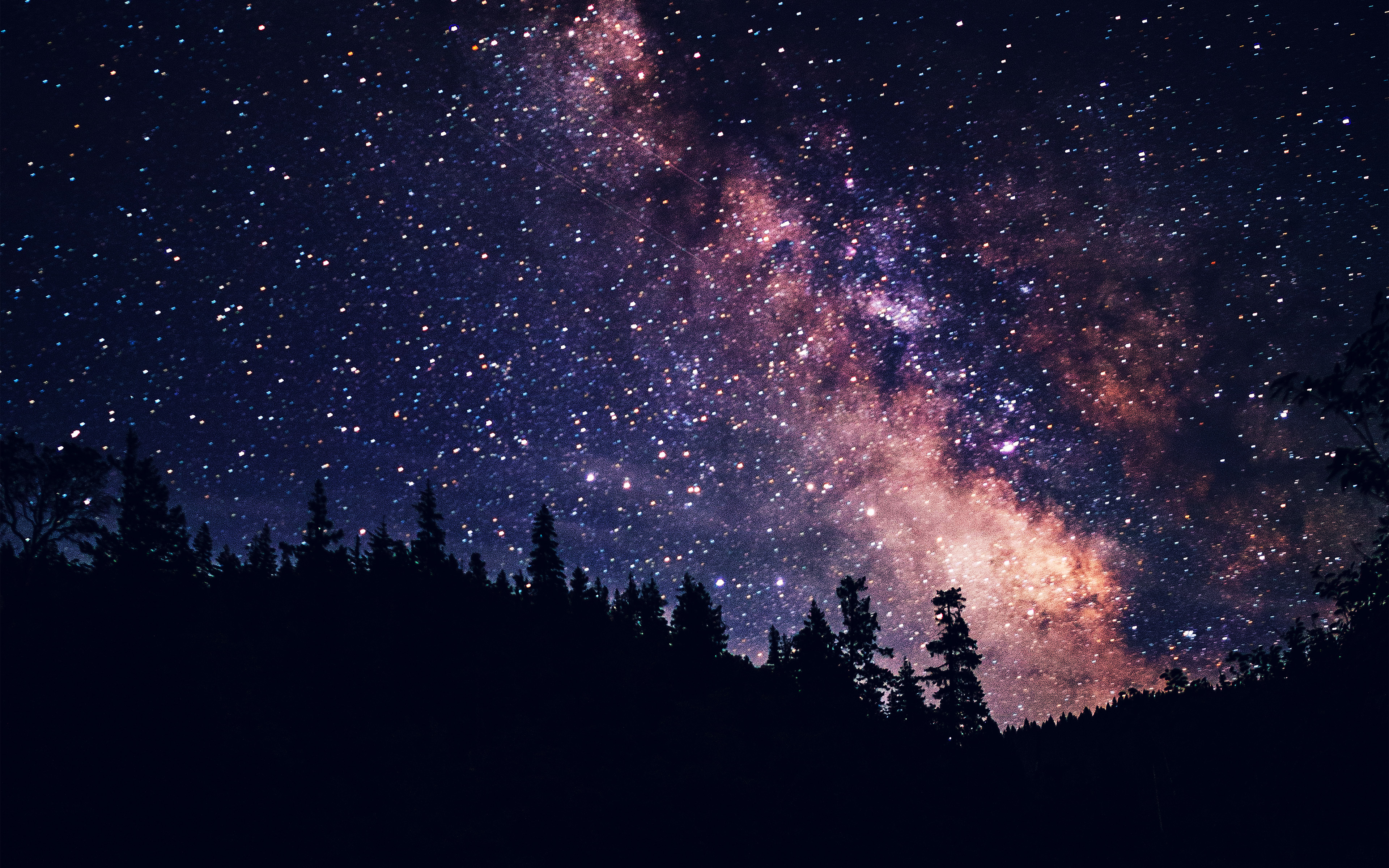 Fb Cover Wallpaper Cute Mx08 Night Sky Dark Space Milkyway Star Nature Papers Co