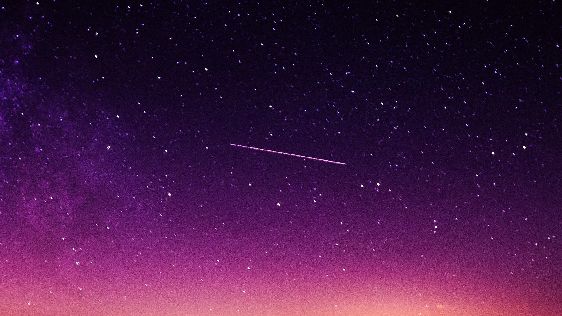 4k Fall Wallpaper For Phone Ne63 Star Galaxy Night Sky Mountain Purple Red Nature