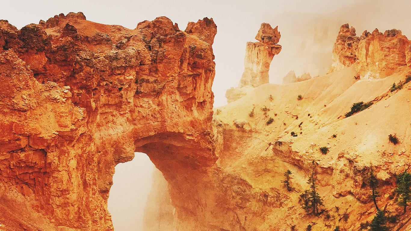 Iphone 6 Orange Flower Wallpaper I Love Papers Nh31 Rock Mountain Orange Yellow Nature