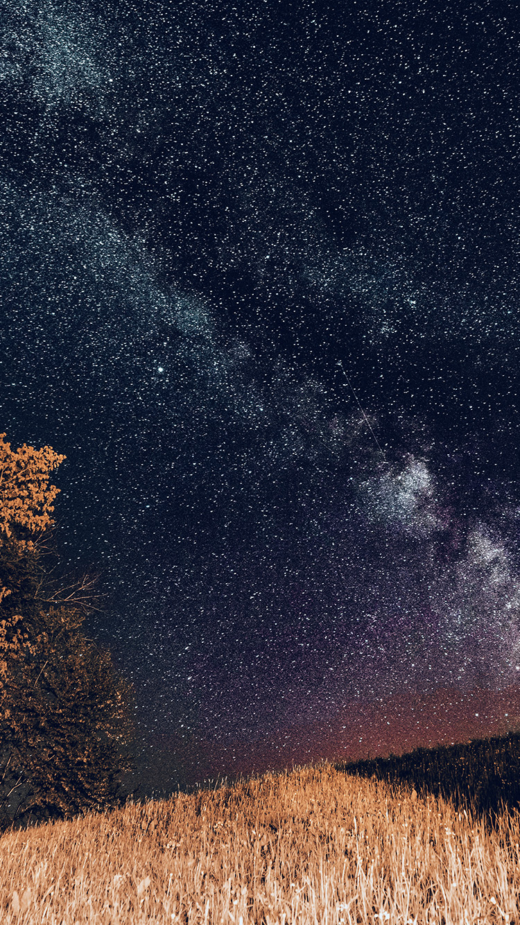 Htc One X Wallpapers Hd Ni73 One Dark Night Sky Starry Space Silent Blue Wallpaper