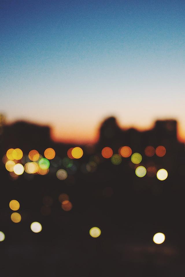 Samsung Note 2 Car Wallpaper Nm99 Light Bokeh Sunset City Wallpaper
