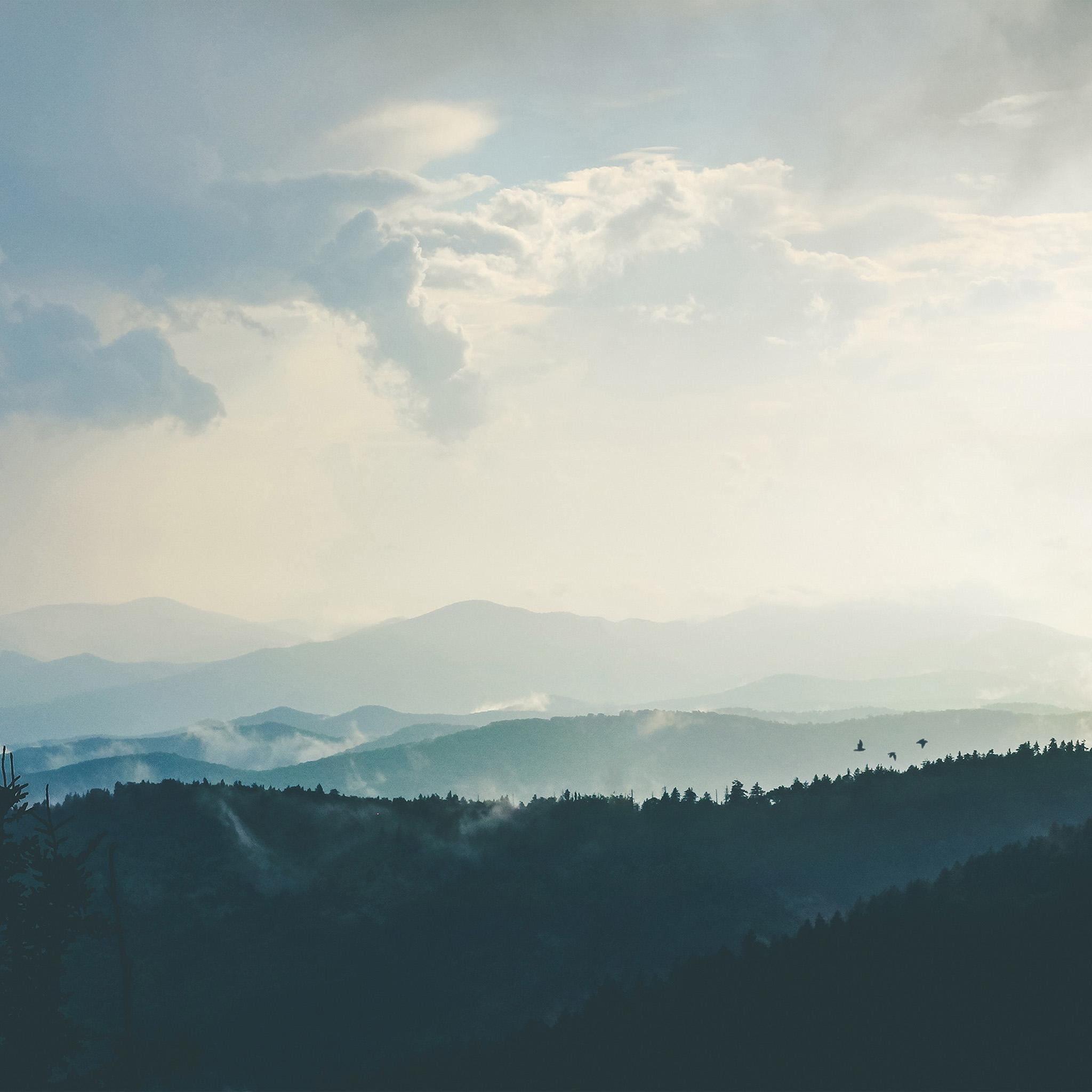 Anime Wallpaper For Macbook Air Nn56 Mountain Morning Sky Bird Blue Nature Wallpaper