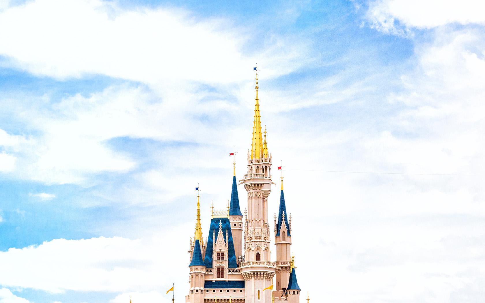 Disney World Fall Wallpaper Nn96 Disney World Castle Sky Wallpaper