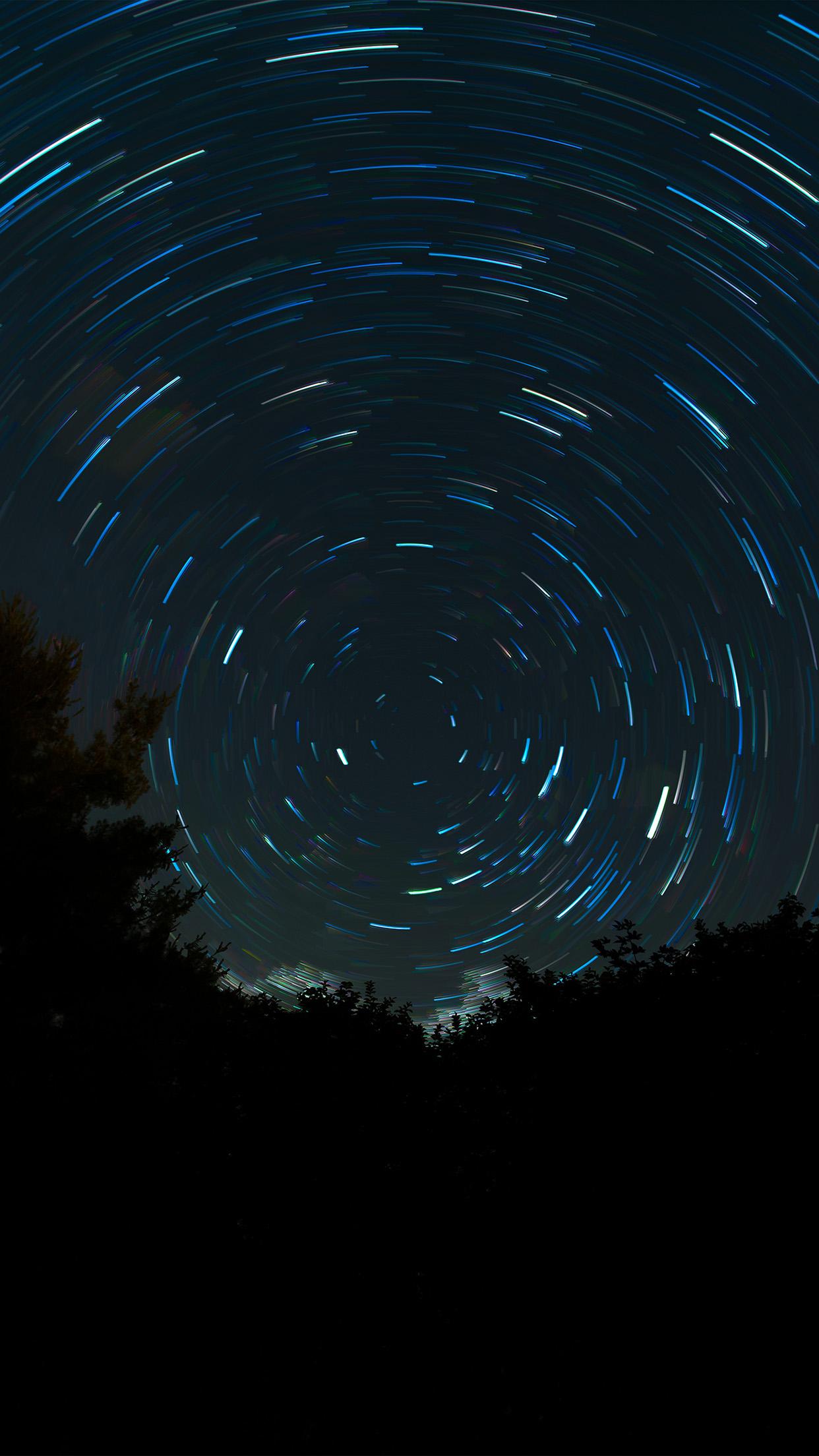 Hd Fall Wallpapers Phone No16 Space Night Sky Circle Dark Wallpaper