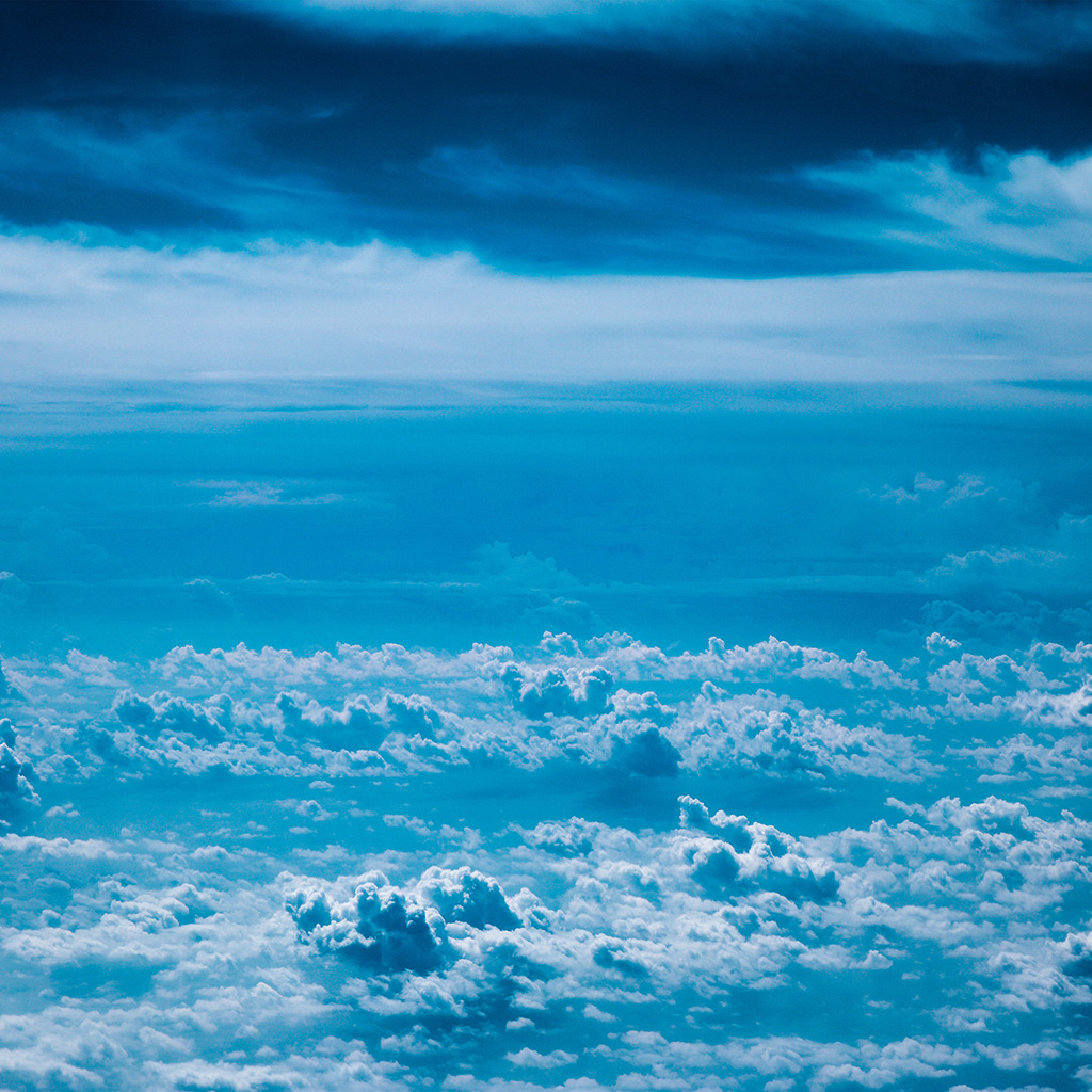 Iphone X Parallax Wallpaper Np77 Cloud Sky Blue Nature Wallpaper