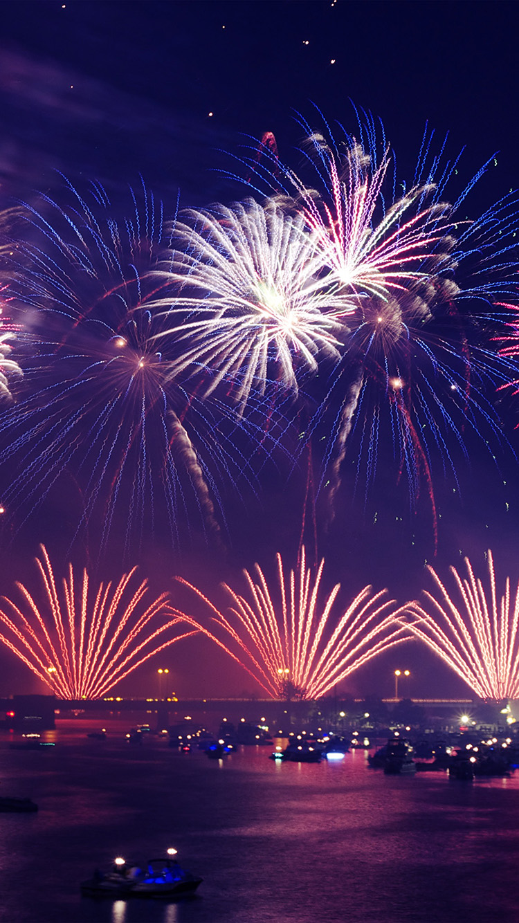 Iphone Happy New Year Wallpaper Nw30 Firework City New Year Sky Nature Wallpaper