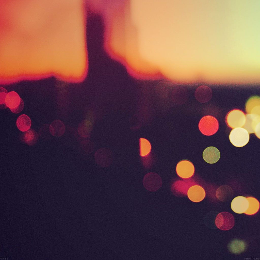 Hd Game Wallpapers For Iphone 6 Va42 Bokeh Sunset Pattern Papers Co