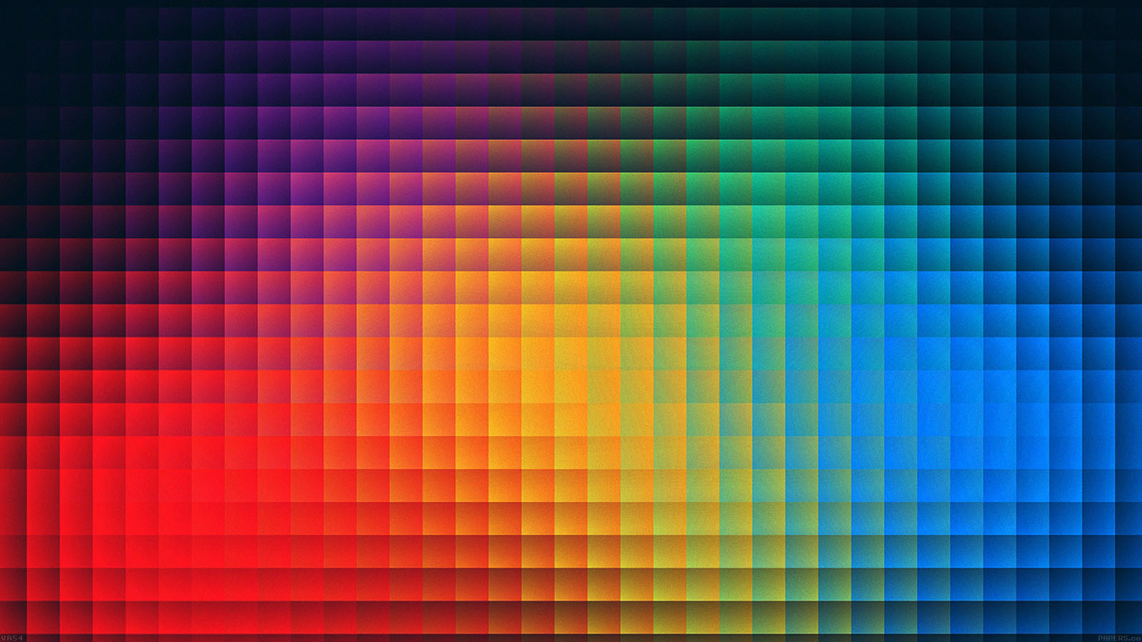 Android Wallpaper Fall Va54 Rainbow Pixels Pattern Papers Co
