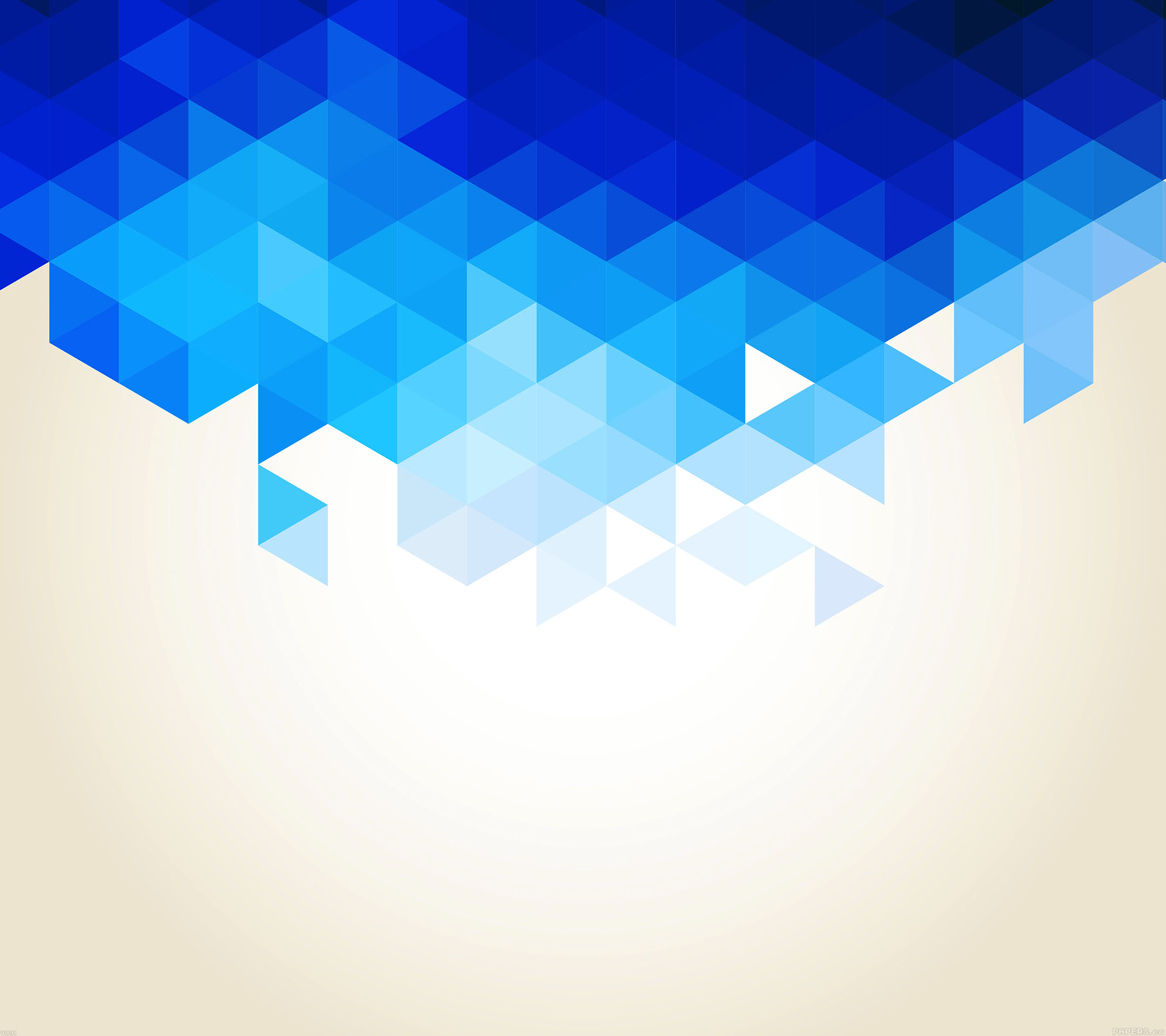 Galaxy S4 Fall Wallpaper Va91 Wallpaper Triangle Fall Blue Pattern Papers Co
