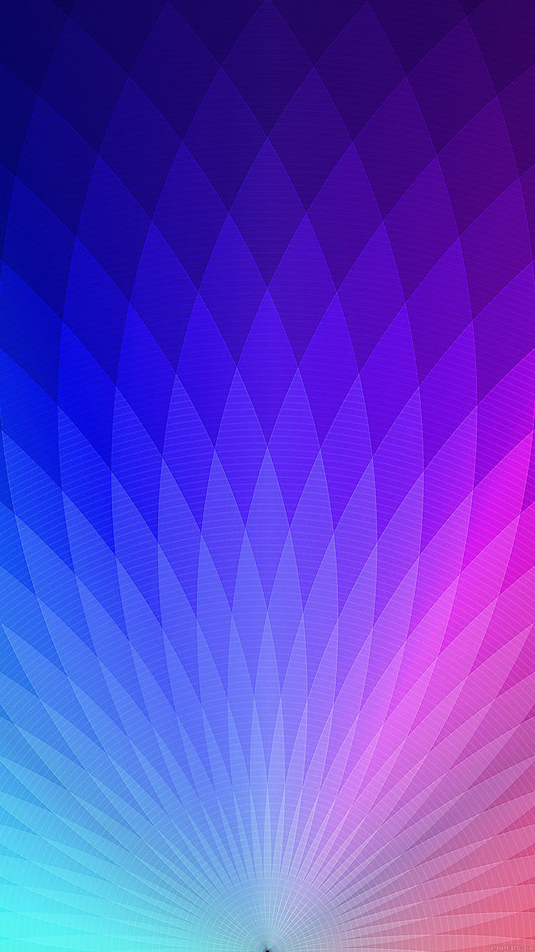Wallpaper Blue Iphone X Vb92 Wallpaper Rainbow Blue Lights Patterns Art Papers Co