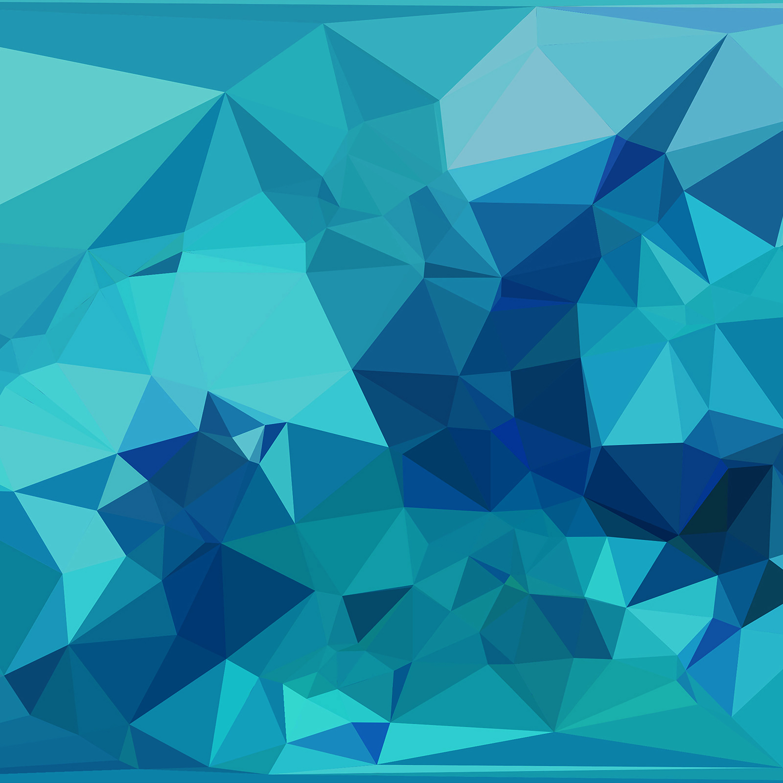 3d Parallax Wallpaper Pro Vc96 Triangle Of Blue Patterns