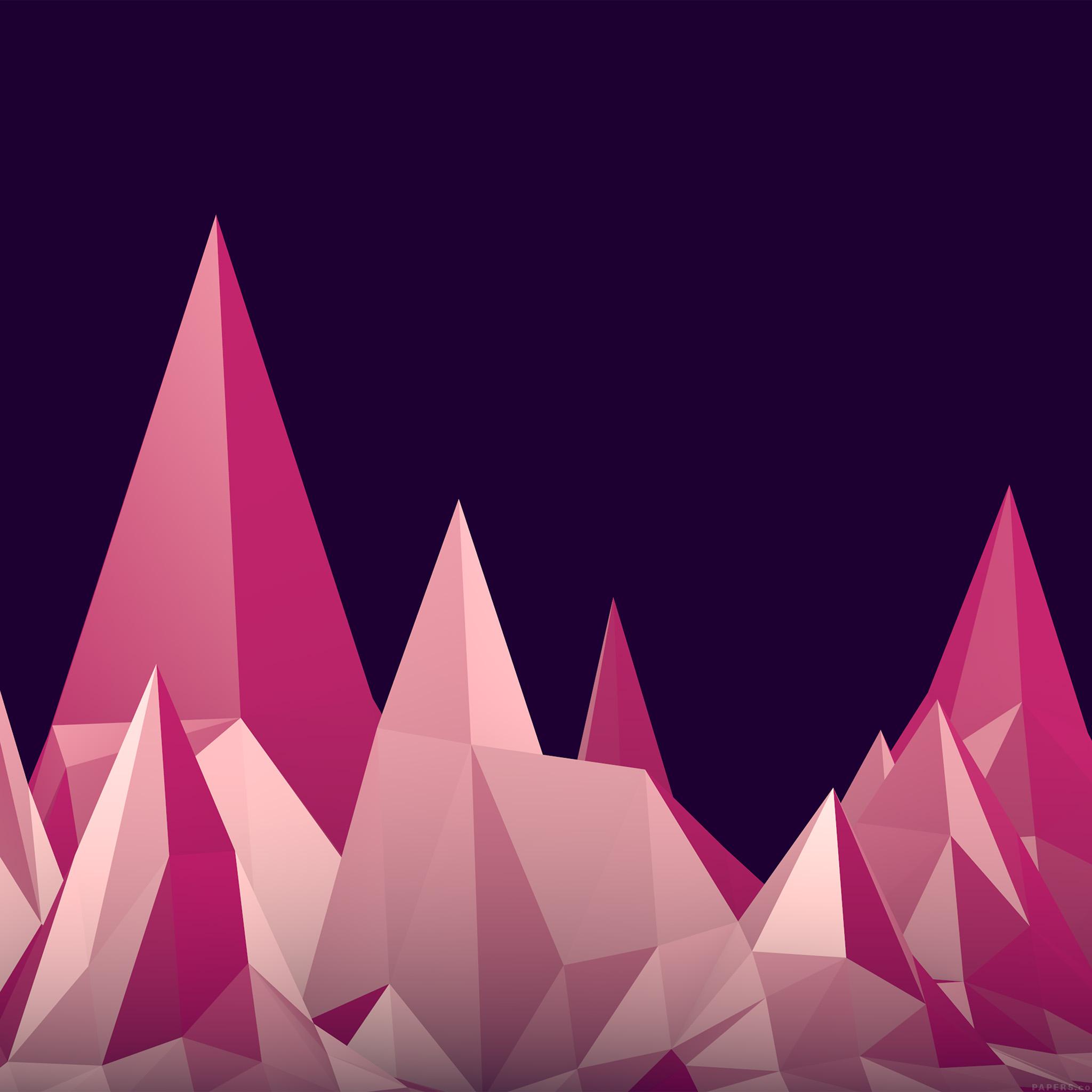 3d Parallax Wallpaper Pro Vf46 Sharp Triangle Digital Graphic Pattern