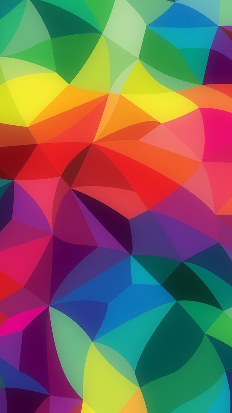 Iphone Se Fall Colors Wallpaper Pattern