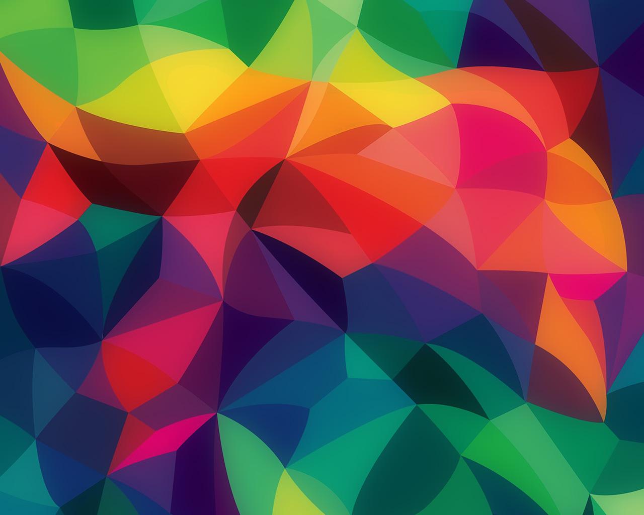 Iphone Se Fall Colors Wallpaper Vk42 Rainbow Abstract Colors Pastel Dark Pattern Wallpaper