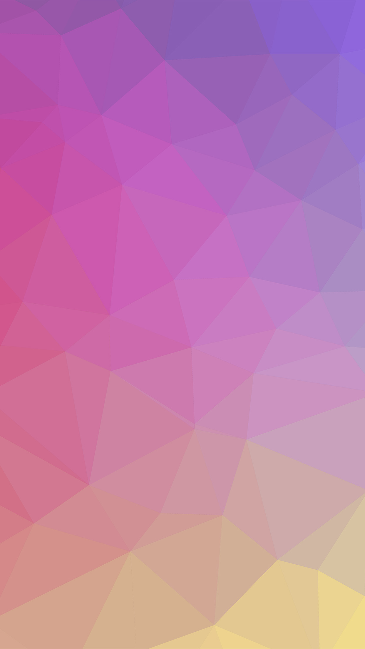 Note 8 3d Wallpaper Vk65 Samsung Galaxy Polyart Pastel Pink Yellow Pattern