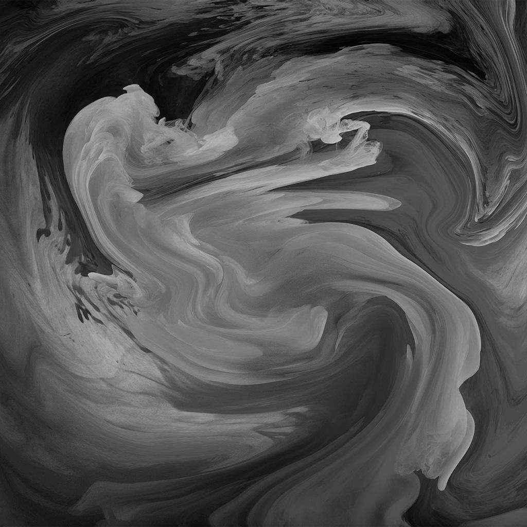 3d Parallax Wallpaper Pro Vl09 Hurricane Swirl Abstract Art Paint Dark Bw Pattern