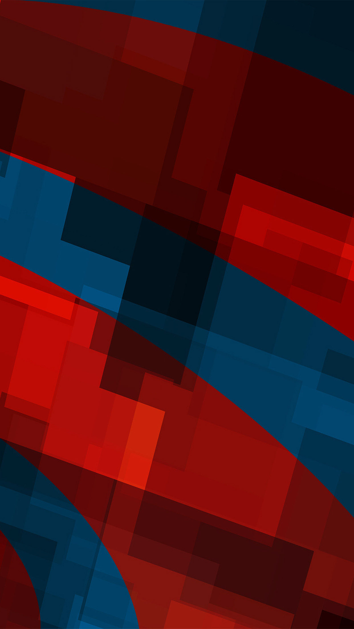 Minimalist Fall Wallpapers Papers Co Iphone Wallpaper Vo59 Art Red Blue Block