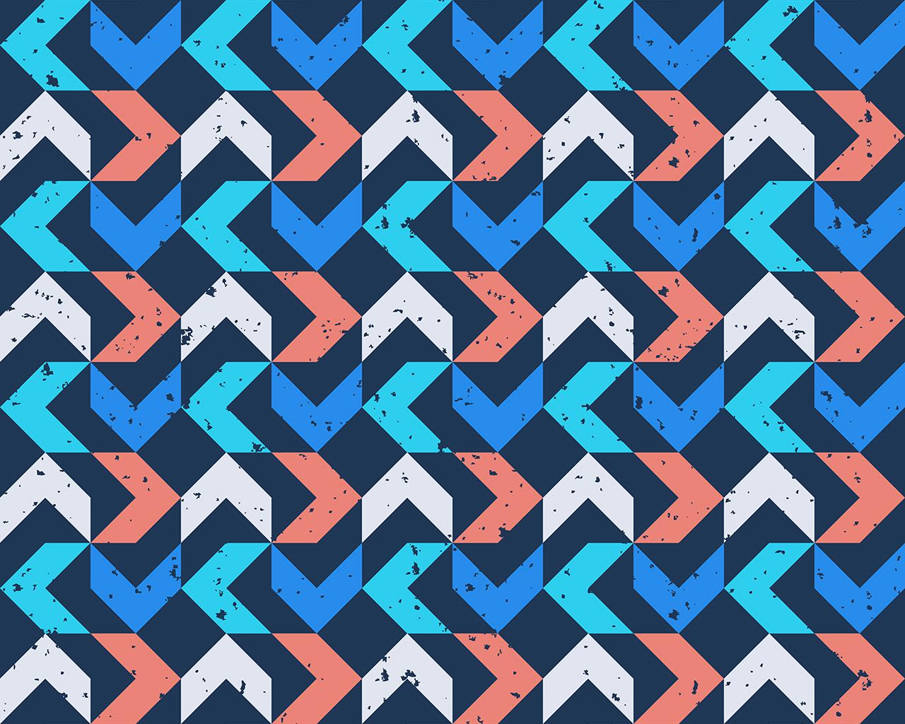 Laptop Wallpapers Fall Vo74 Retro Red Blue Pattern Grunge Wallpaper