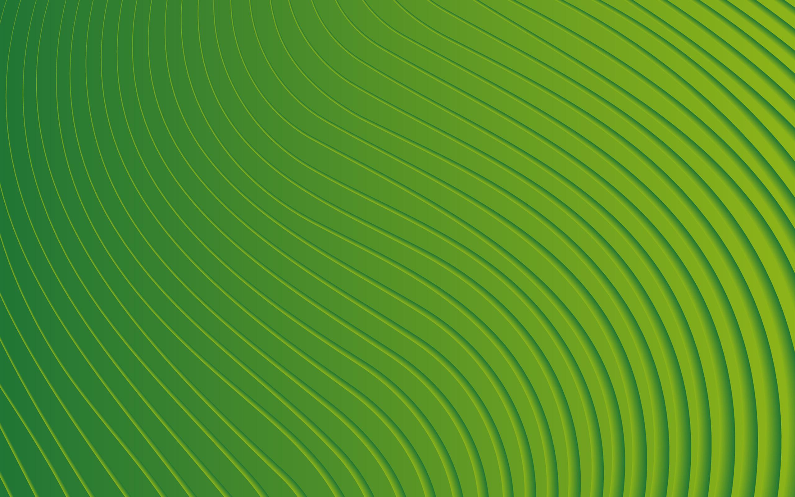 Cute Pattern Background Wallpaper Vp10 Curve Green Pattern Wallpaper