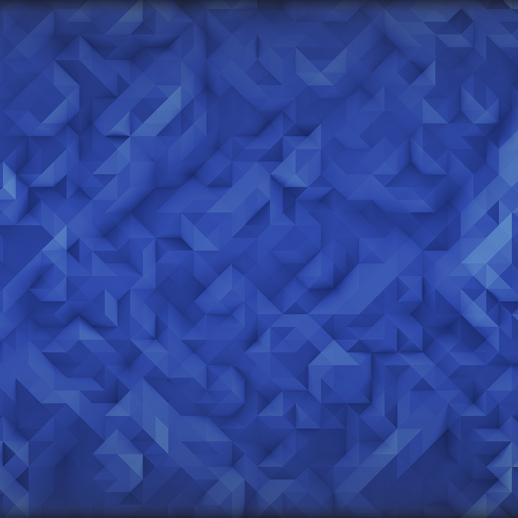 Iphone 4 Car Wallpapers Hd Vp33 Polygon Art Blue Triangle Pattern Wallpaper