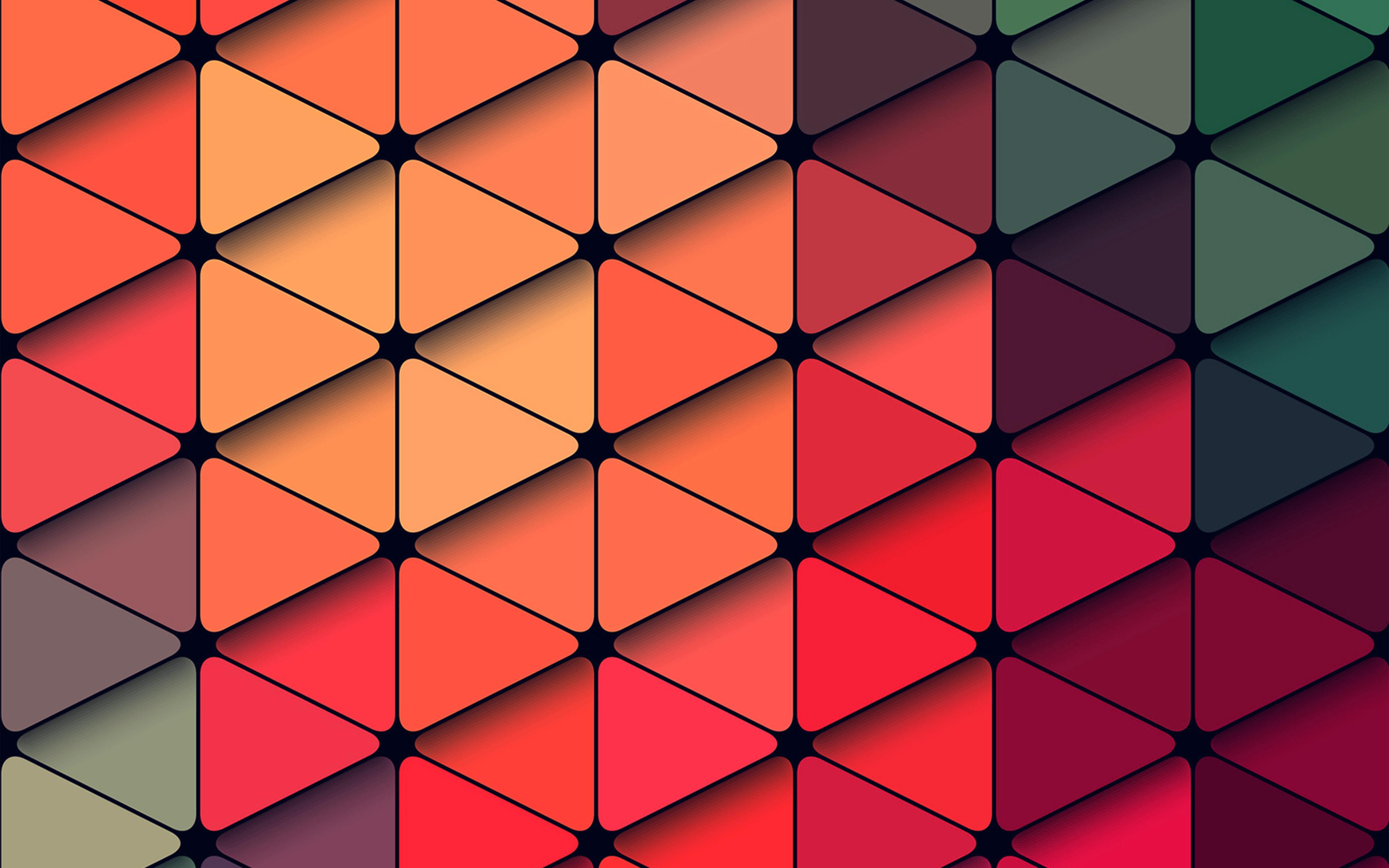 Fall Wallpaper 4k Vp93 Trainagles Rainbow Color Red Abstract Pattern Wallpaper