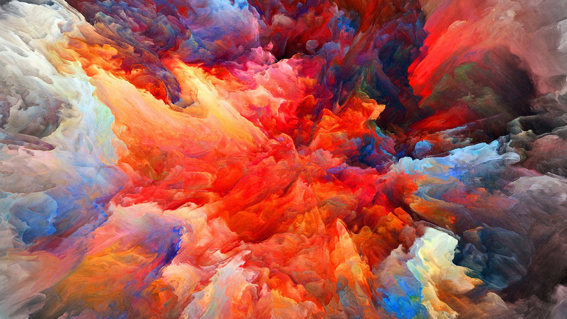 Wallpapers For Desktop Fall Colors Vq21 Color Explosion Red Paint Pattern Wallpaper