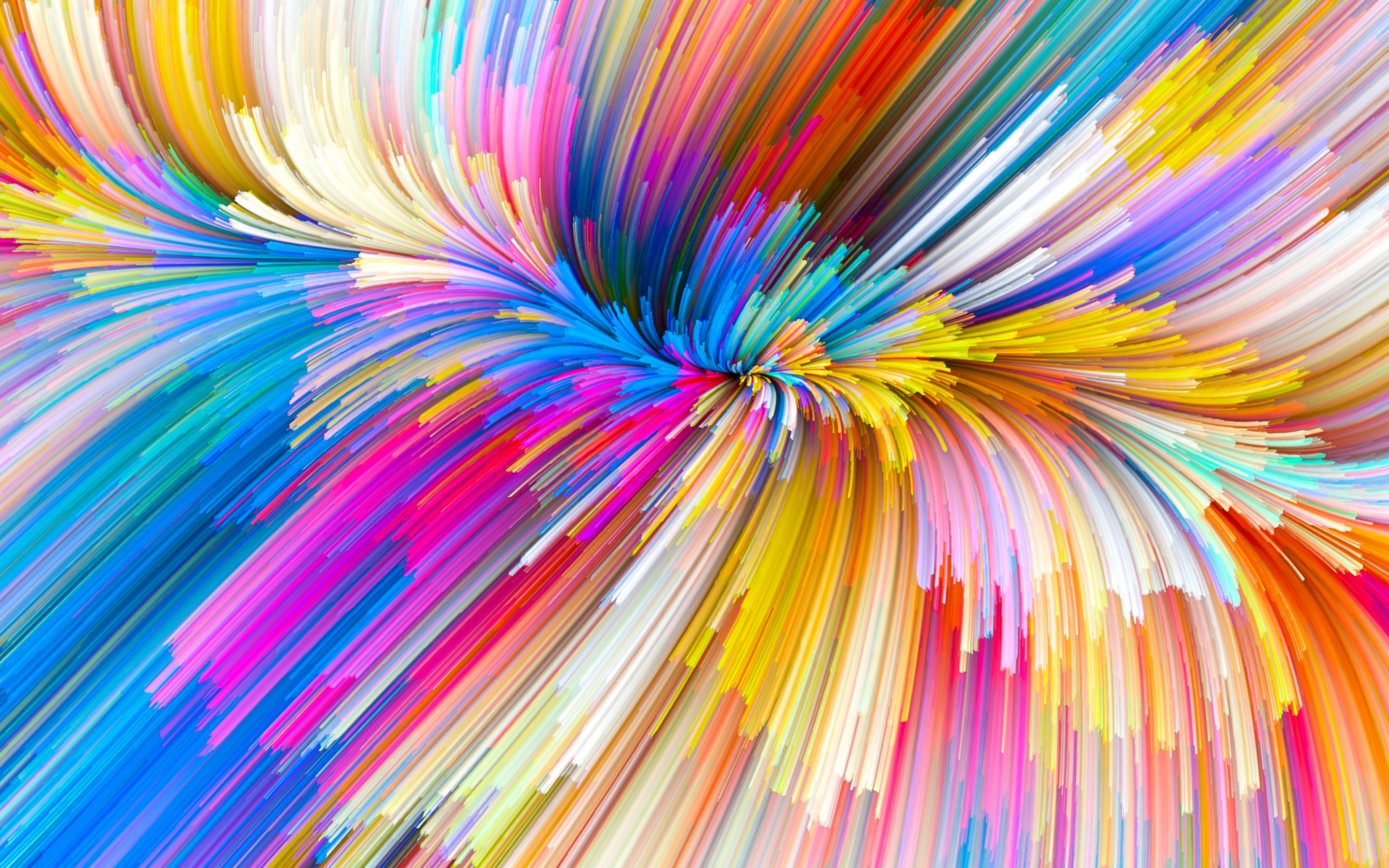 Simple Wallpapers Colors Fall Vy07 Color Rainbow Digital Art Pattern Background Wallpaper