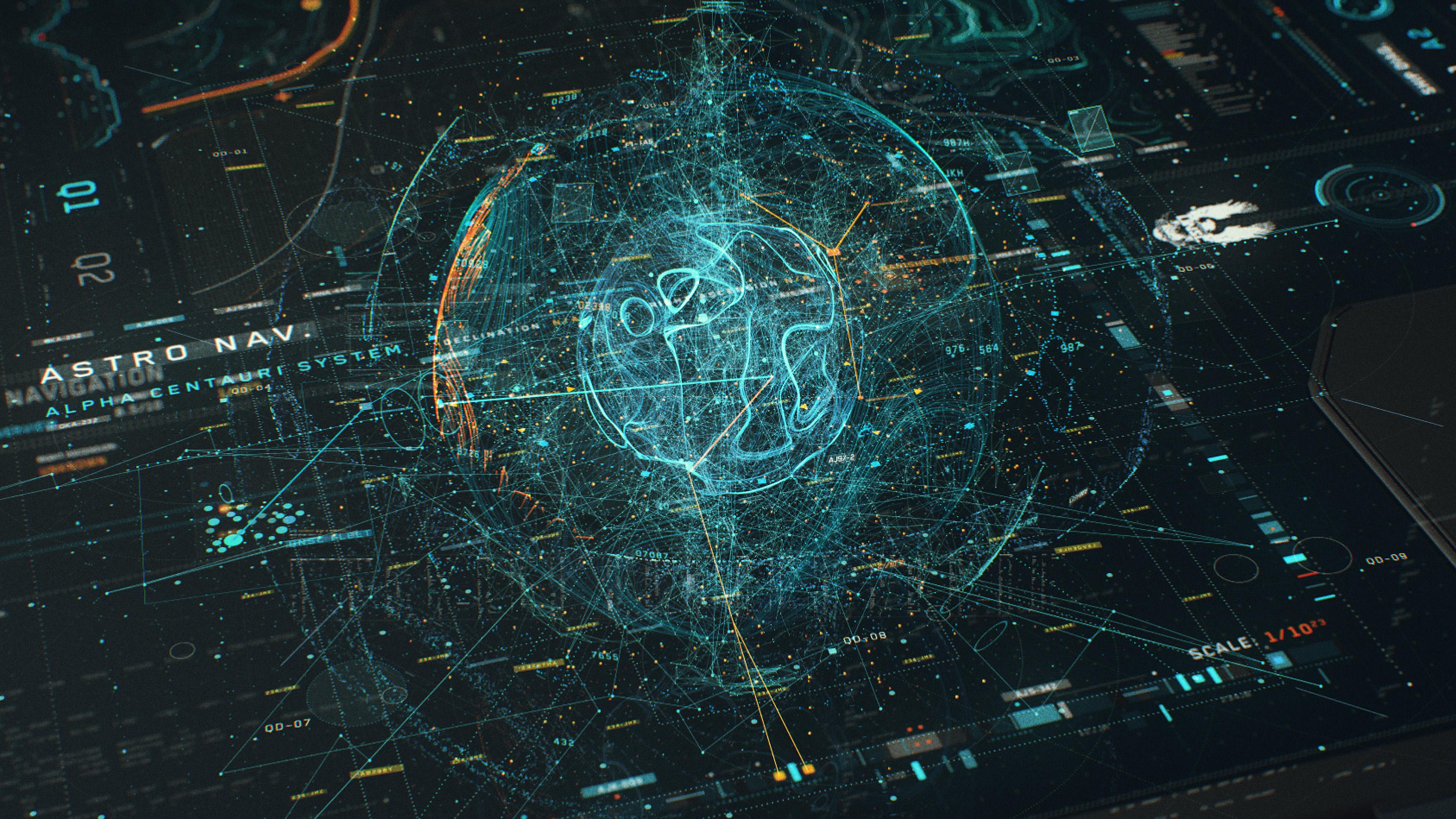 Red Star 3d Wallpaper Wallpaper For Desktop Laptop Vy60 Digital Blue Line