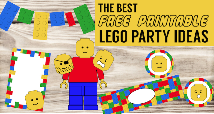 Invitation Card Amazon Best Lego Birthday Party Ideas {free Printables} - Paper