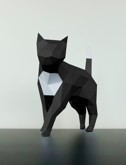 Paper Trophy Papertrophy Cat - Papertrophy.com