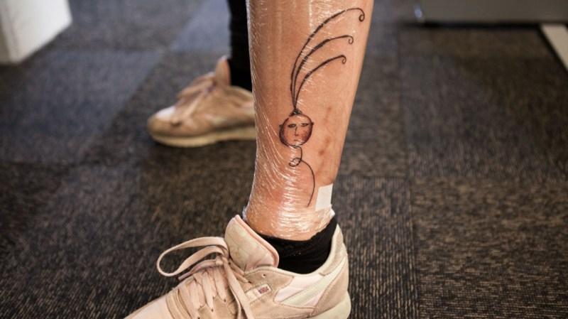 ballonghode tatovering