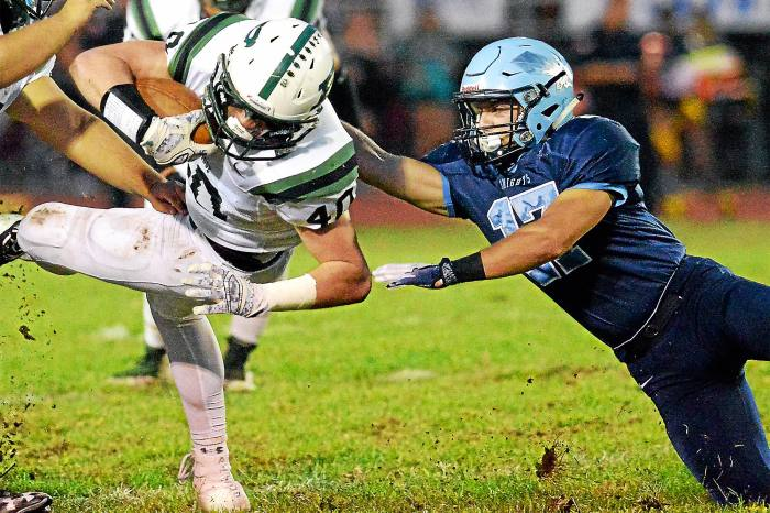 North Penn's defense rocks, offense rolls in rout of Pennridge