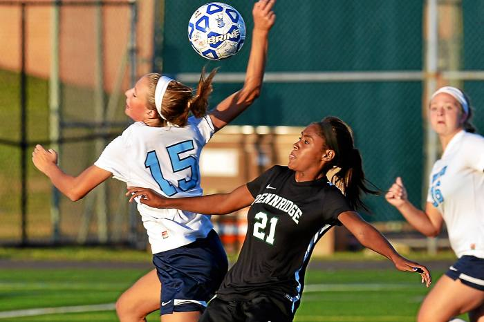 Pennridge holds on late to top North Penn