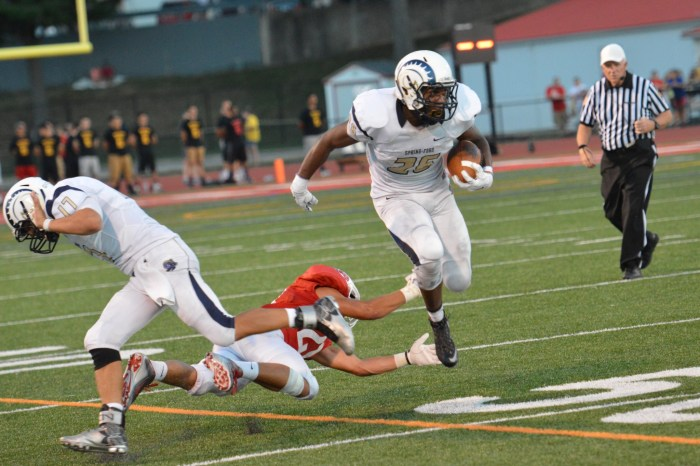 Spring-Ford hits gas, tops Norristown 50-14