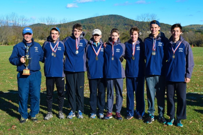 Council Rock North boys cross country set the bar then hit their mark