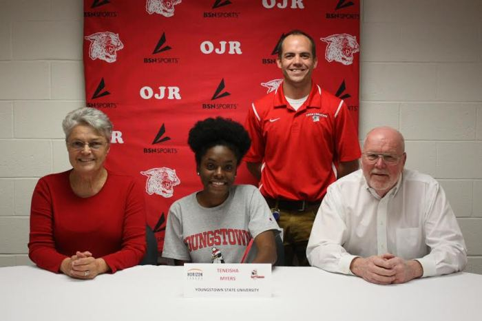 Owen J. Roberts' Teneisha Myers selects Youngstown State