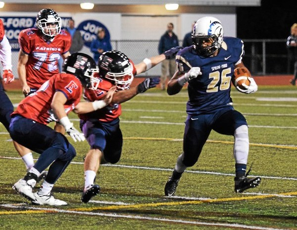 Spring-Ford grinds down Central Bucks East in district opener