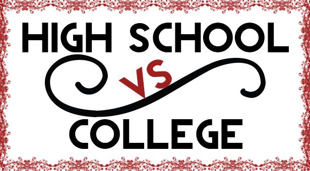 High School VS College Greenville University Papyrus