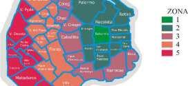 Mapa de Buenos Aires, Capital Federal