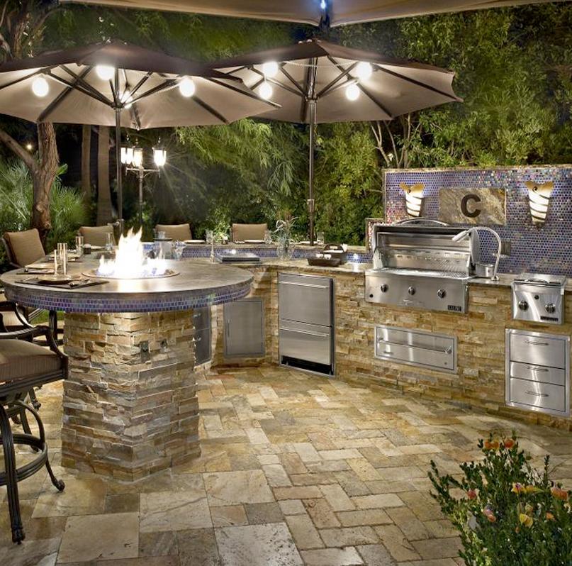 Custom Outdoor Kitchens Palm Beach