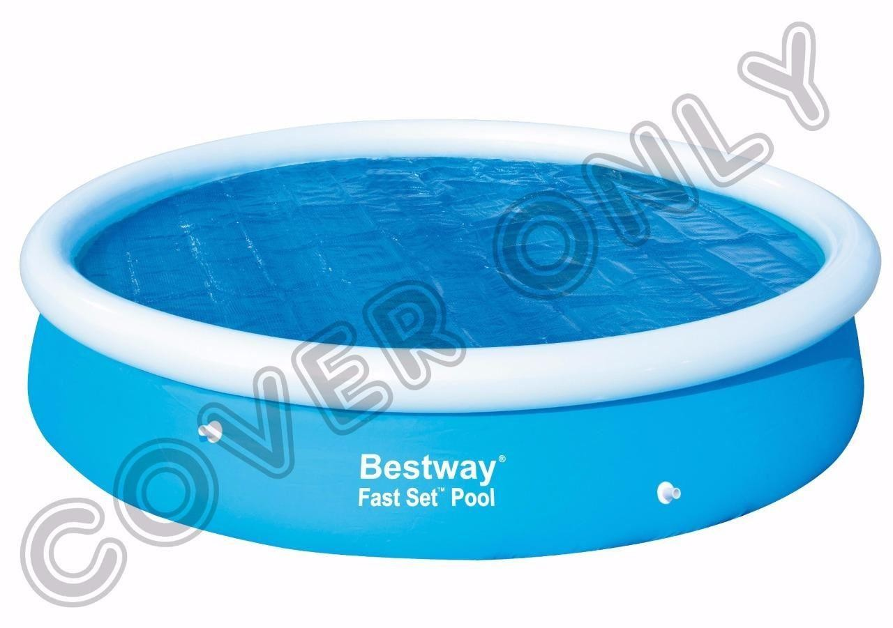 Chlortabletten Quick Up Pool Bestway 12 39 X 30 Quot Round Solar Swimming Paddling Pool Cover