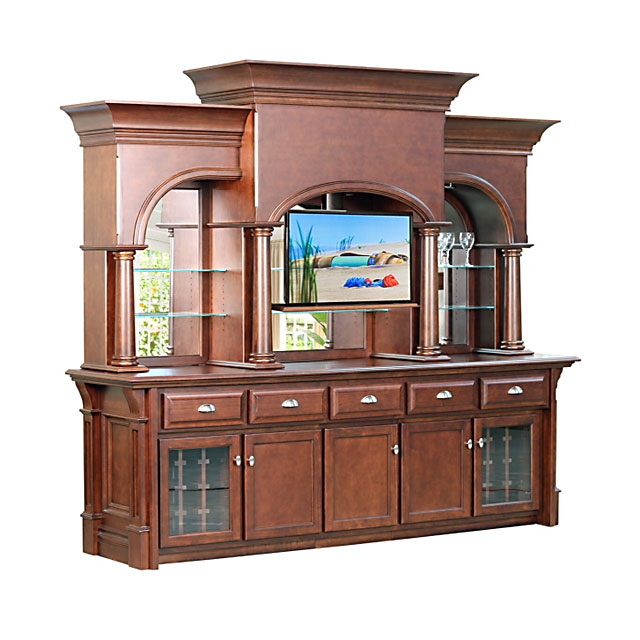 Custom Furniture Home Bar Toronto With Tv Accessory - Home Bar Furniture Toronto