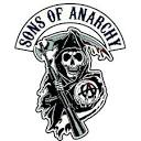 Sons of anarchy logo white background