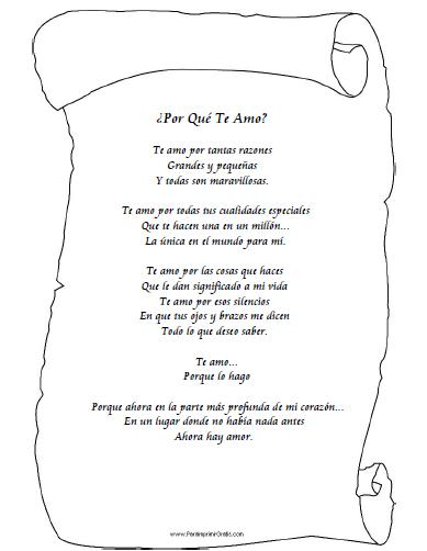 Poema para mi Esposa - Para Imprimir Gratis - ParaImprimirGratis - certificado de reconocimiento para imprimir