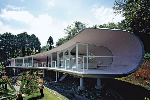 #1 CRESCENT HOUSE, SHIGERU BAN, TAKATA, SHIZUOKA PREFECTURE