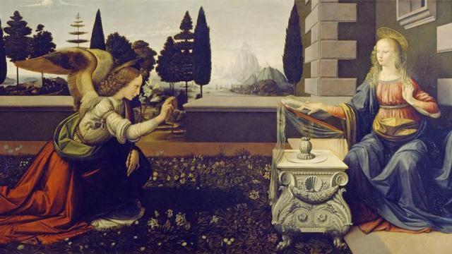 Ο Ευαγγελισμός στη Δυτική και Βυζαντινή Τέχνη