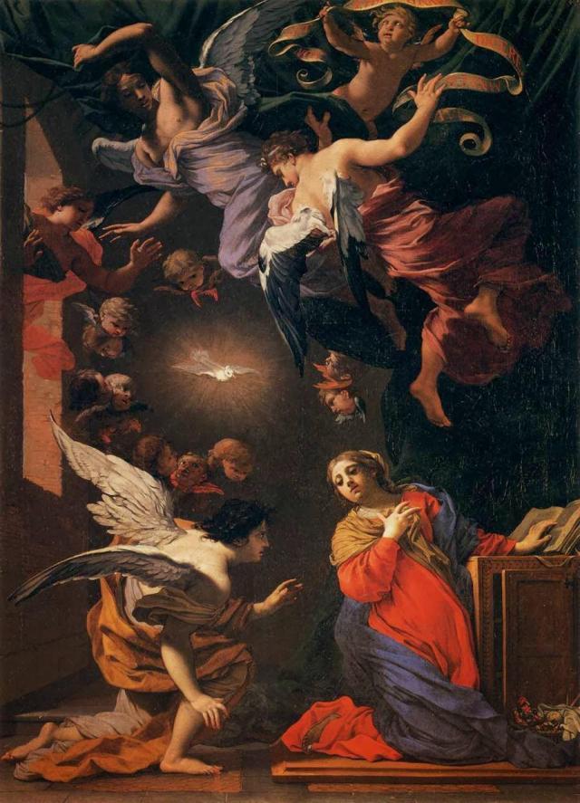 Σιμόν Βουέ. Uffizi. Φλωρεντία.