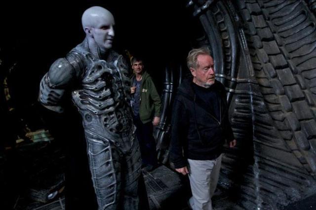 Ridley Scott & Engineer
